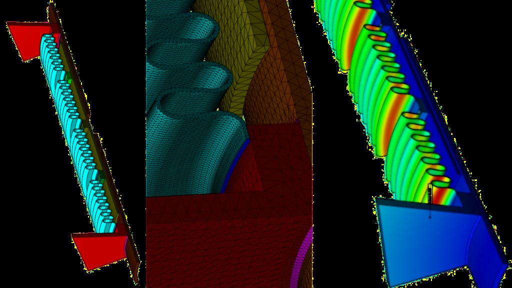 tuyauterie - compensateur dilatation - analyse thermo-élastique