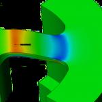 analyse non-linéaire - capteur pression membrane
