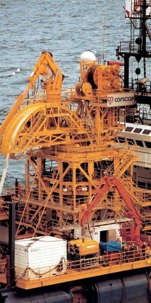 offshore - structure mécano-soudée - analyse statique et dynamique - modèle mixte