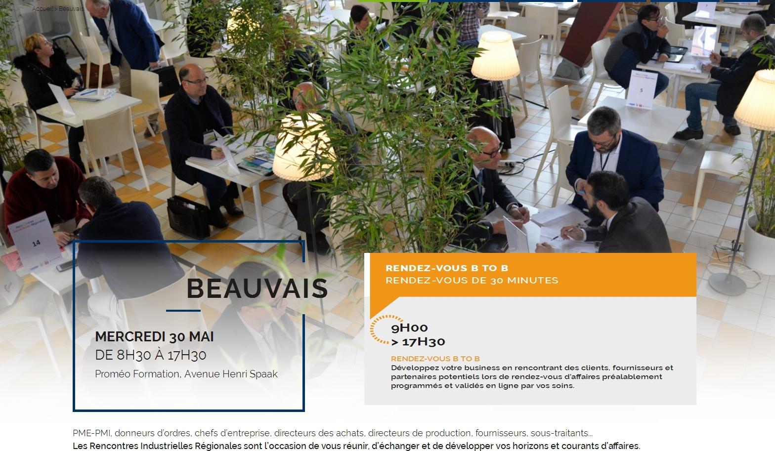rencontres industrielles BEAUVAIS 2018 - logo